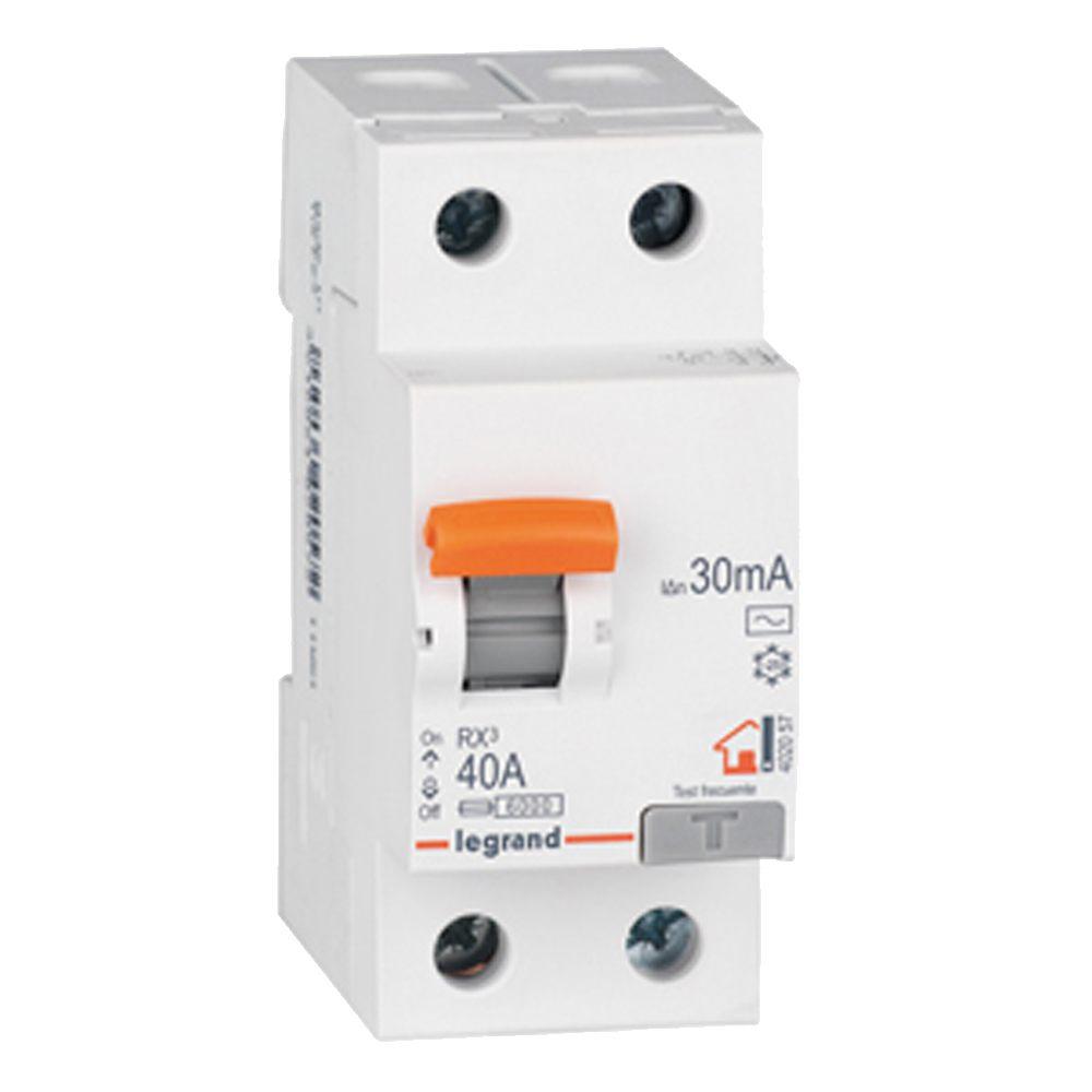 interruptor diferencial monofasico