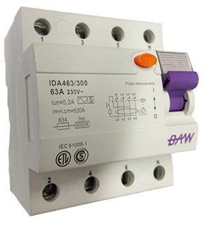 interruptor diferencial selectivo