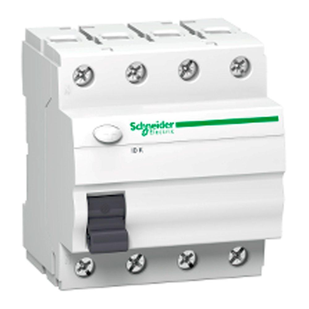 interruptor diferencial trifasico schneider